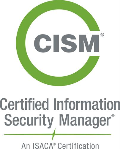 badge for certified information security manager