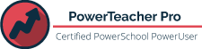 badge for certified powerschool powerteacher pro poweruser